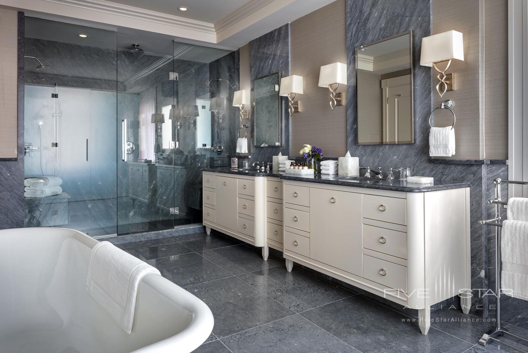Fairmont Empress Royal Suite Bathroom