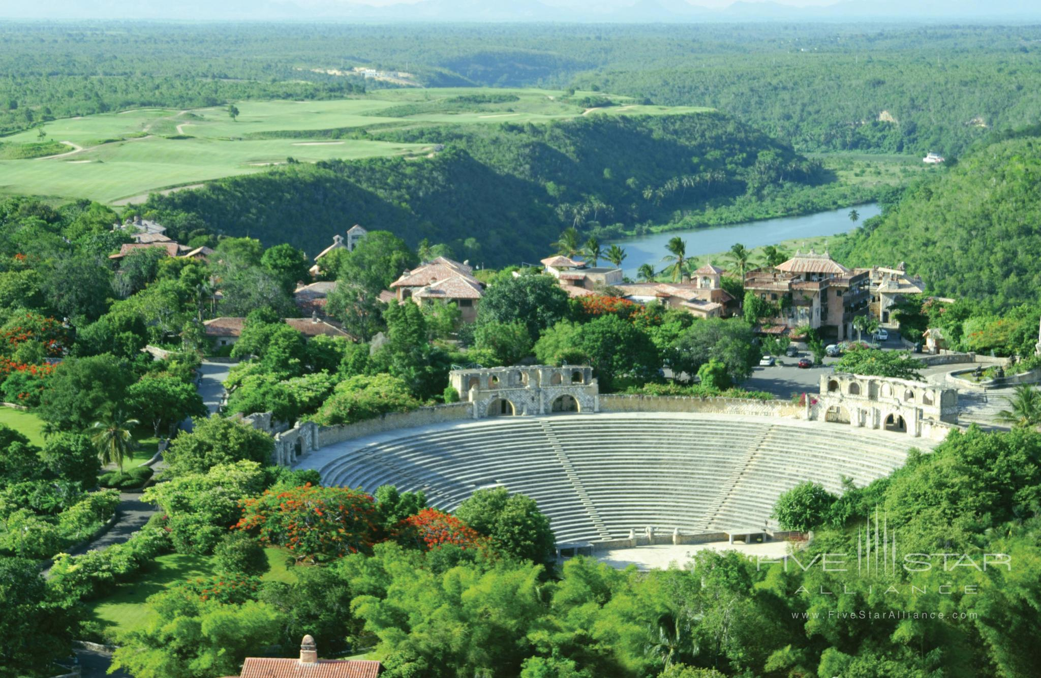 Amphitheater of Altos de Chavon next to Casa de Campo