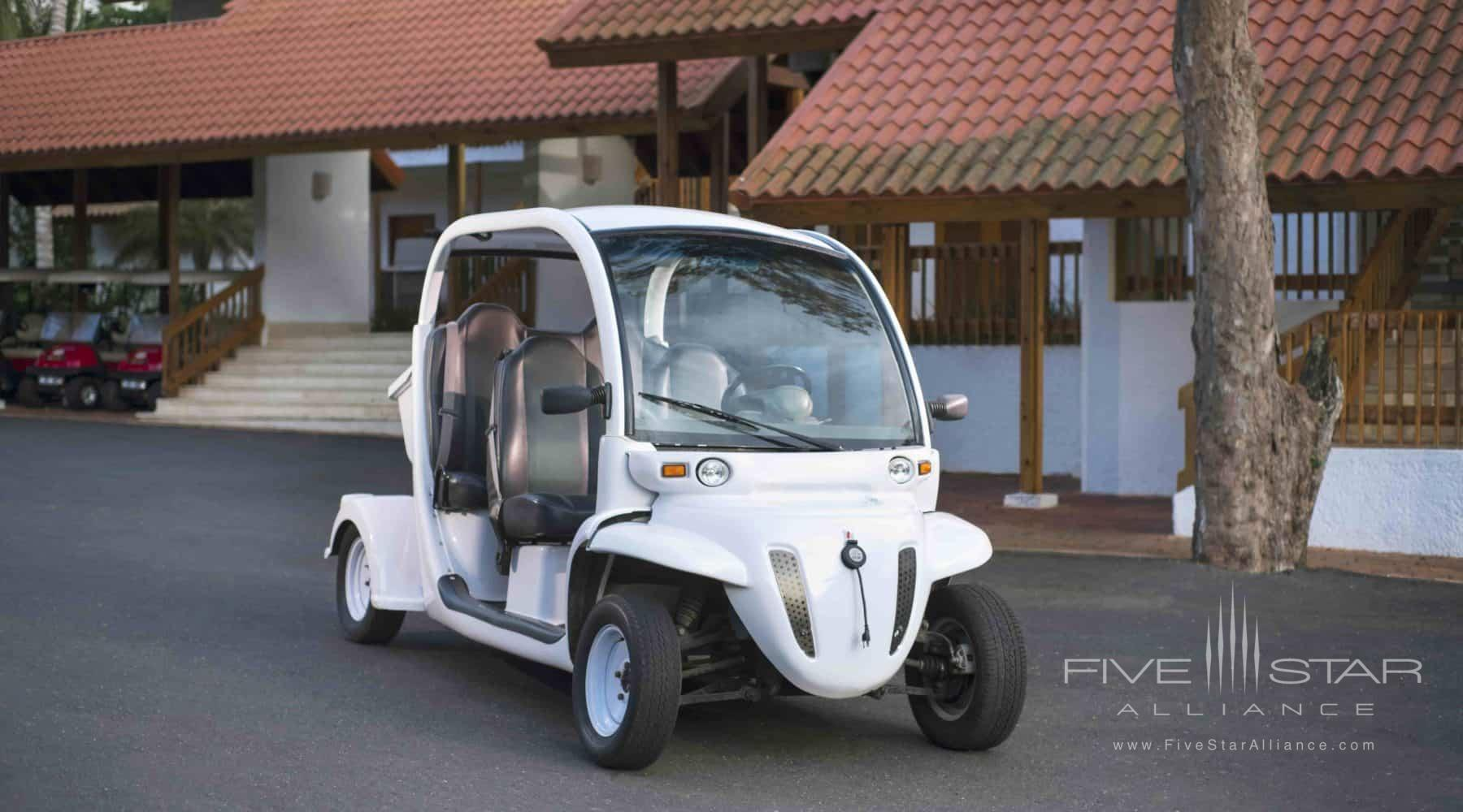Golf Carts for guests in an Elite Suite