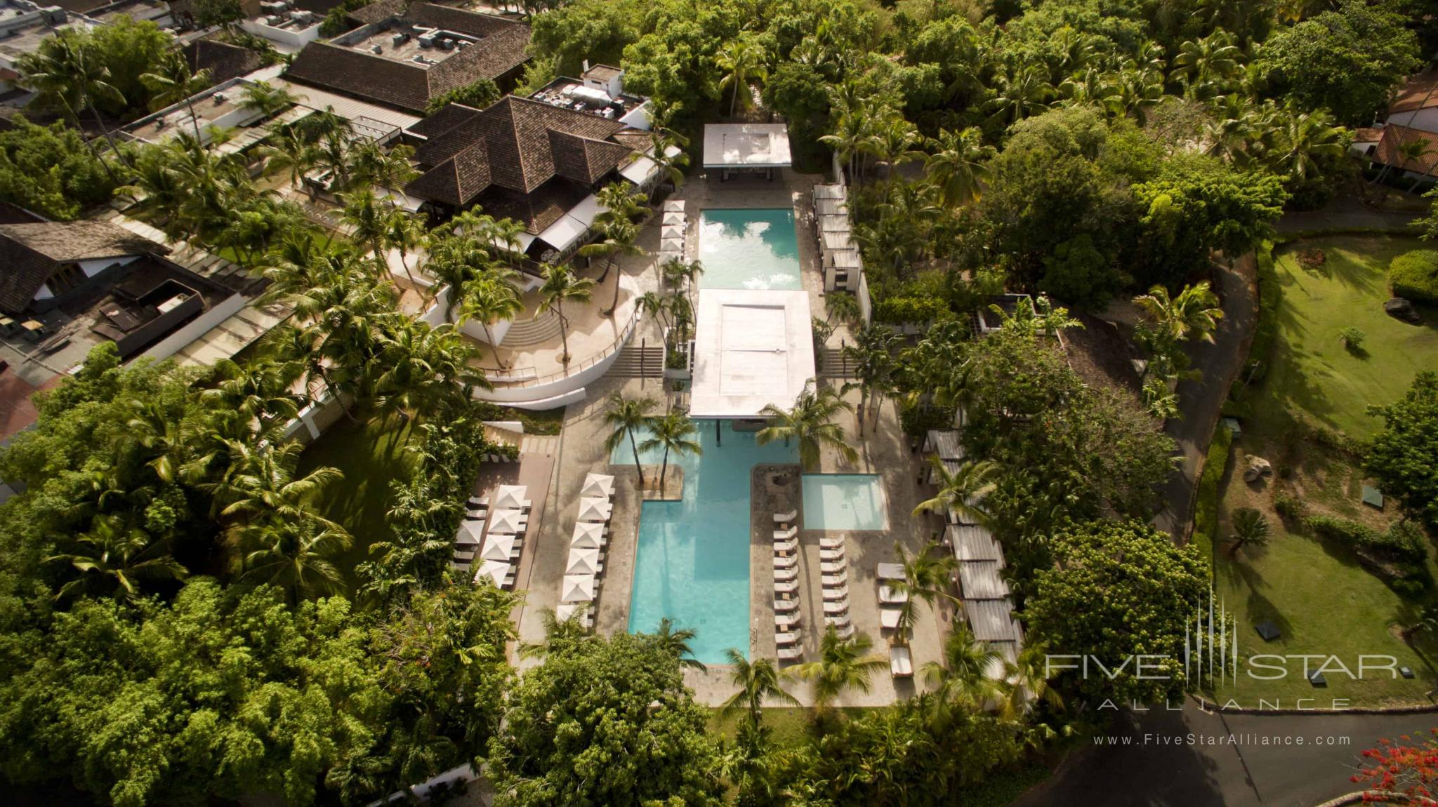 Aerial view of Casa de Campo