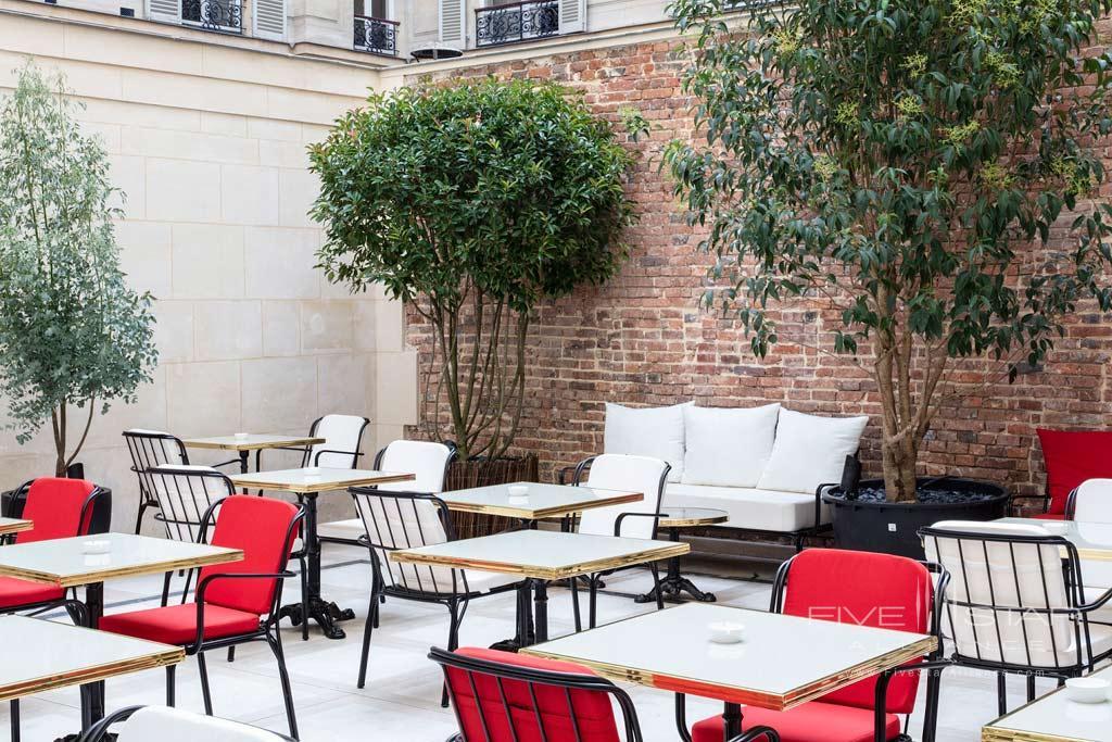 Terrace Dine at Hotel Bowmann, Paris, France