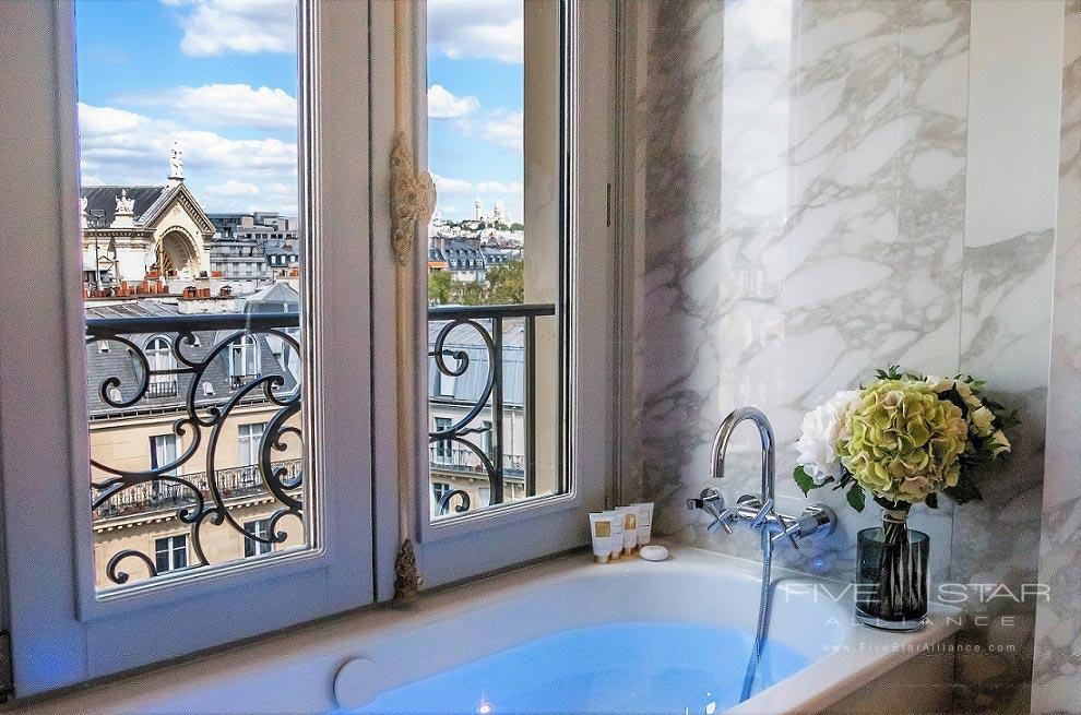 Suite Bath at Hotel Bowmann, Paris, France