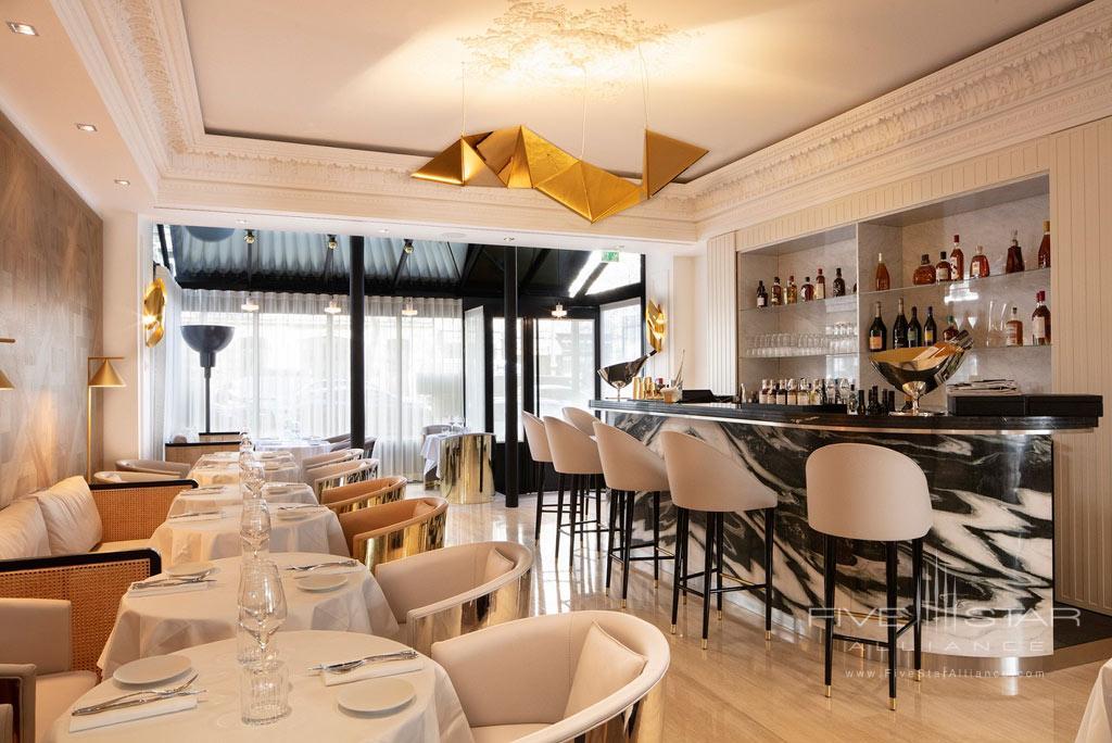 Bar at Hotel Bowmann, Paris, France