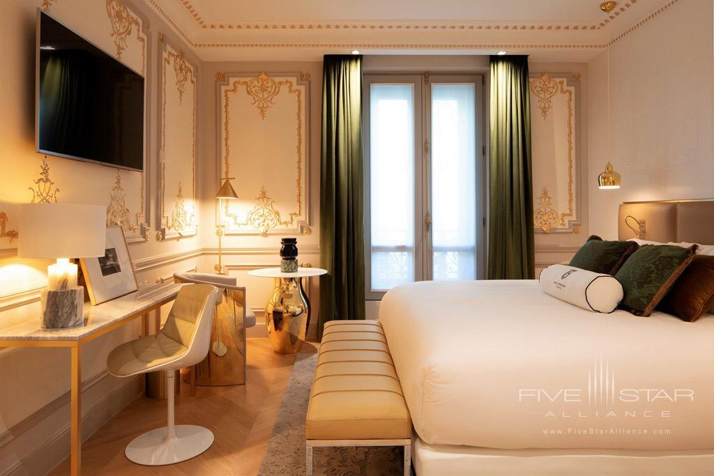 Guest Room at Hotel Bowmann, Paris, France