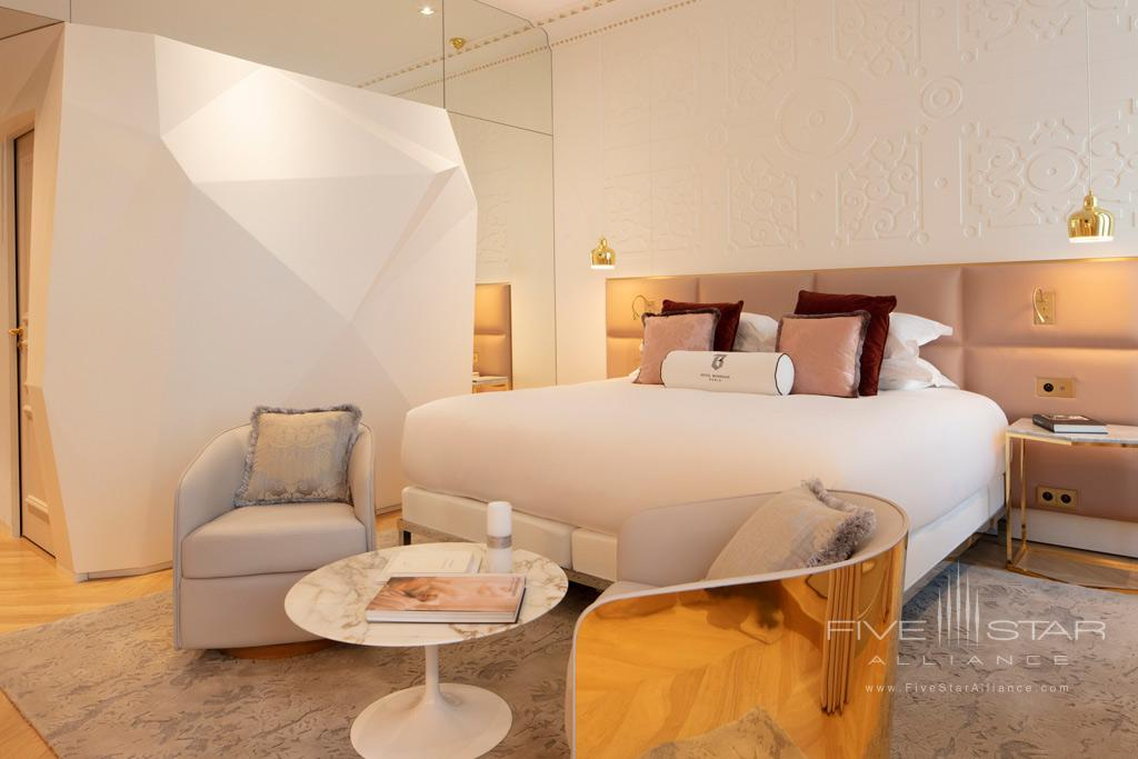 Deluxe Guest Room at Hotel Bowmann, Paris, France