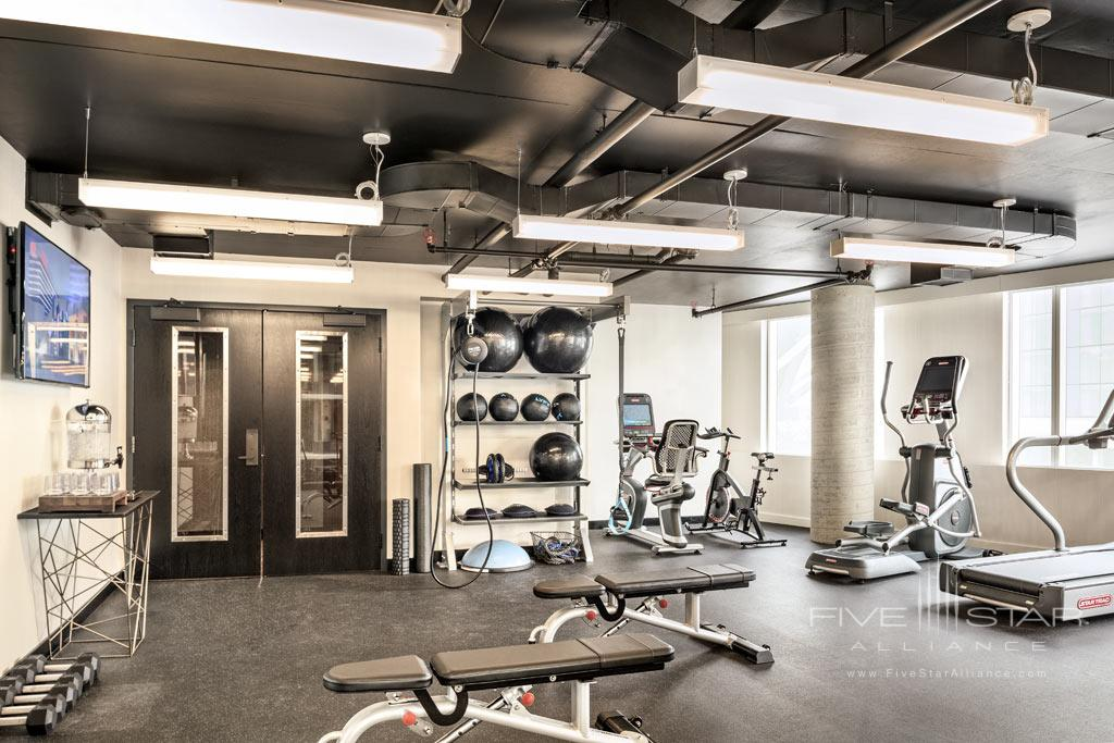 Fitness Center at the DOUGLAS, Vancouver, BC