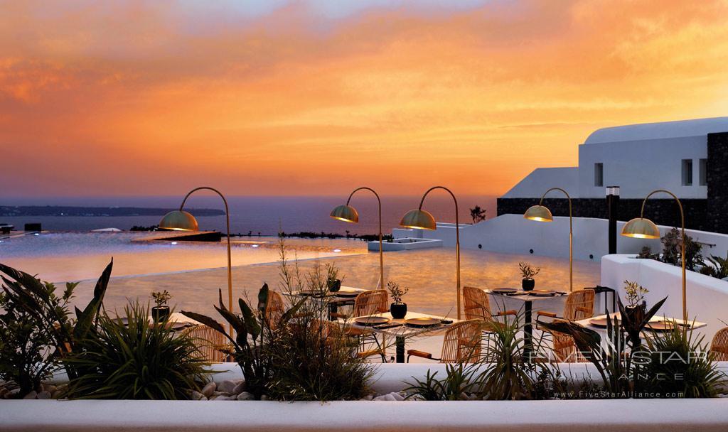 Dine at Santo Maris Oia Luxury Suites & Spa, Greece