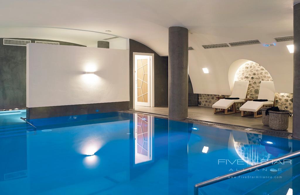 Indoor Pool at Santo Maris Oia Luxury Suites & Spa, Greece