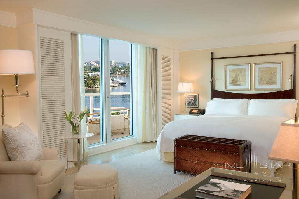 Guest Room at The Ritz-Carlton, Fort Lauderdale, FL