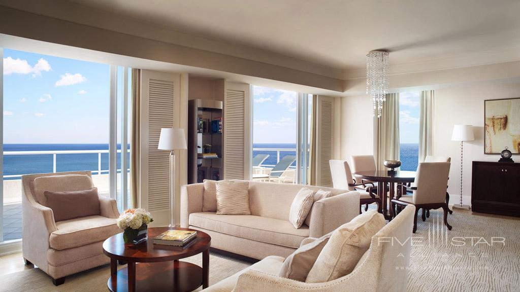The Ritz Carlton Suite at The Ritz-Carlton, Fort Lauderdale, FL