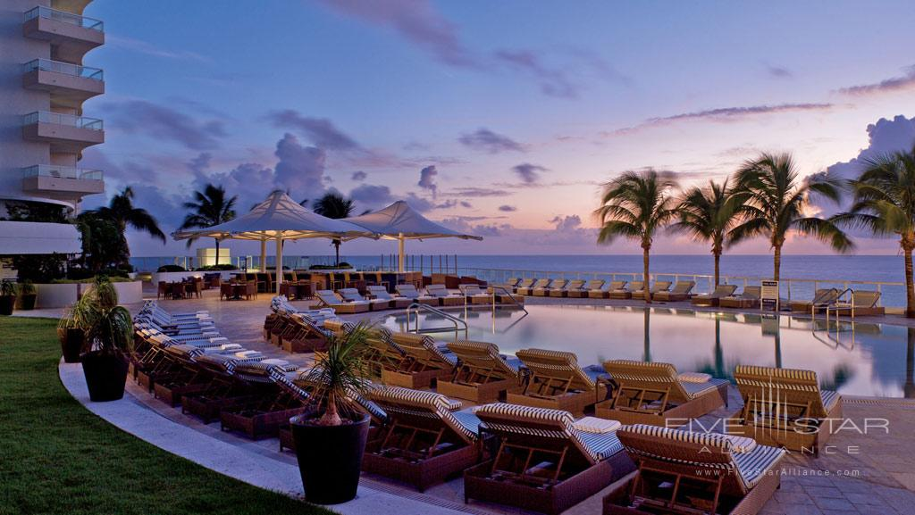 Outdoor Pool at The Ritz-Carlton, Fort Lauderdale, FL