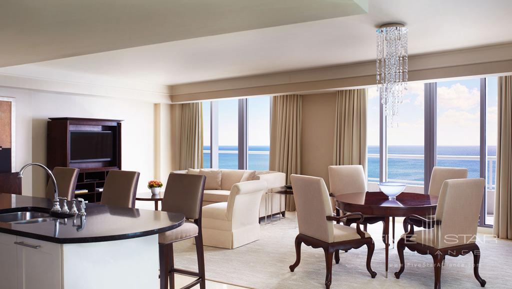 Ocean View Suite at The Ritz-Carlton, Fort Lauderdale, FL
