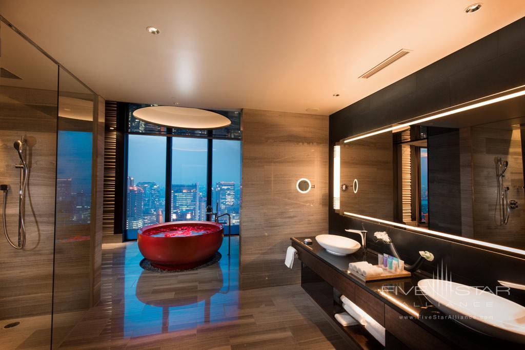 Suite Bath at Conrad Osaka, Osaka, Japan