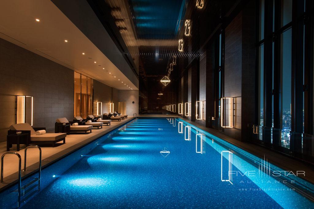 Indoor Pool at Conrad Osaka, Osaka, Japan