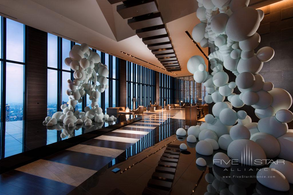 Lobby of Conrad Osaka, Osaka, Japan