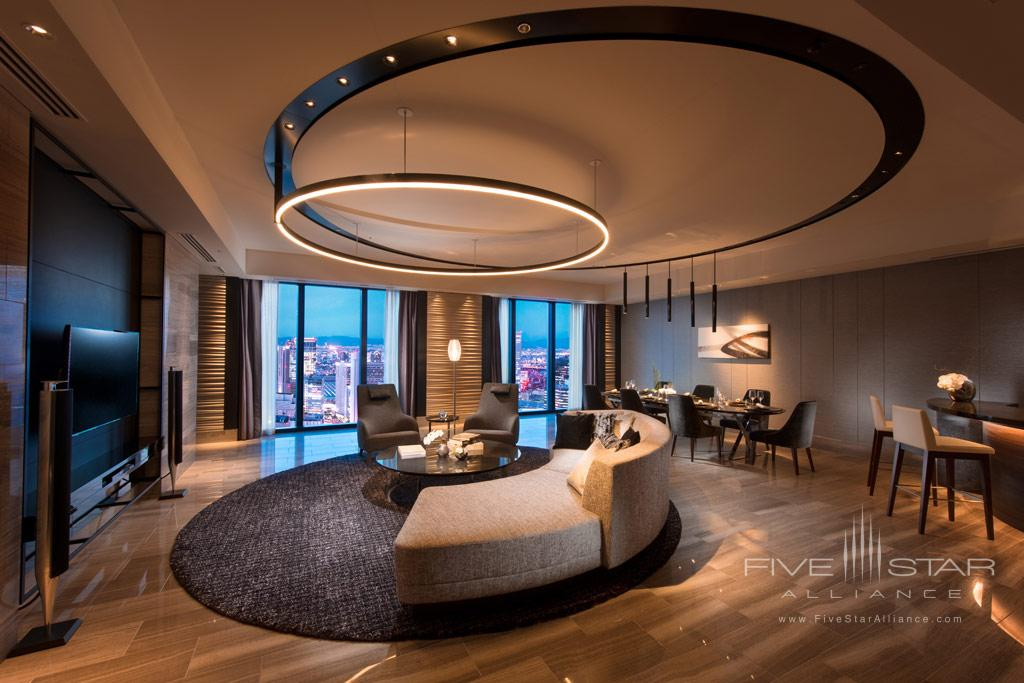 Suite Lounge at Conrad Osaka, Osaka, Japan