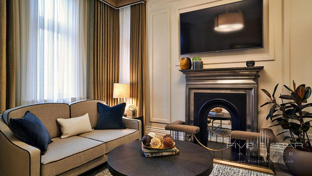 Suite Living at Kimpton Fitzroy London, England, United Kingdom