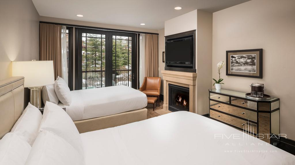 Two Queen Guest Room at Waldorf Astoria Park City, UT