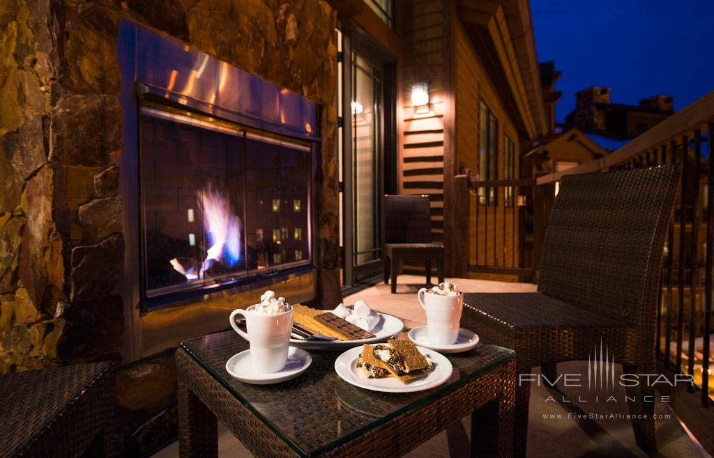 Enjoy Smores with Balcony Views at Waldorf Astoria Park City, UT