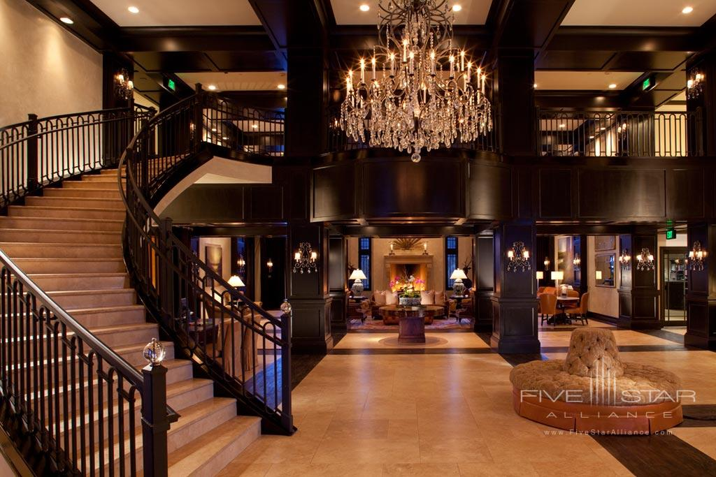 Lobby and Lounge at Waldorf Astoria Park City, UT