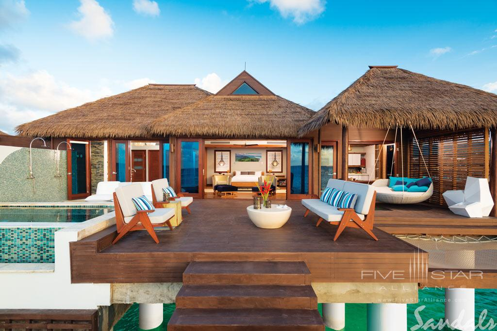 Overwater Villa at Sandals Royal Caribbean, Montego Bay, St. James, Jamaica