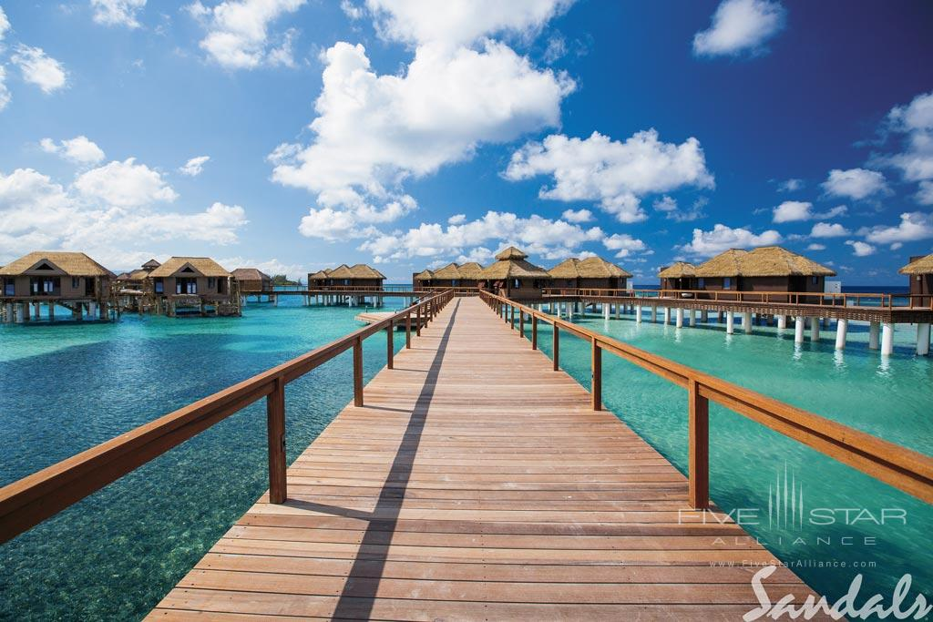 Boardwalk of Sandals Royal Caribbean, Montego Bay, St. James, Jamaica