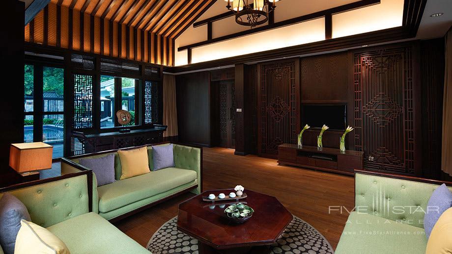 Villa Lounge at Banyan Tree Tengchong, China