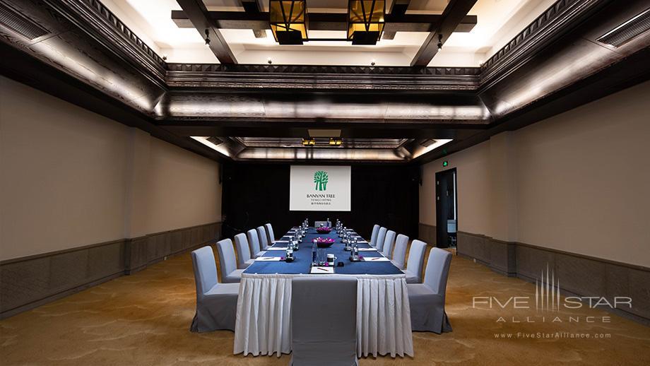 Meetings at Banyan Tree Tengchong, China