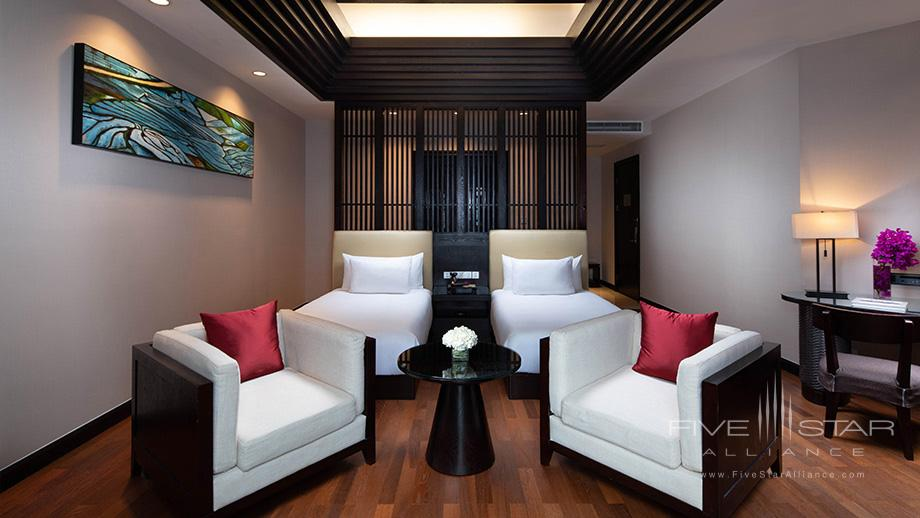 Twin Guest Room at Banyan Tree Tengchong, China