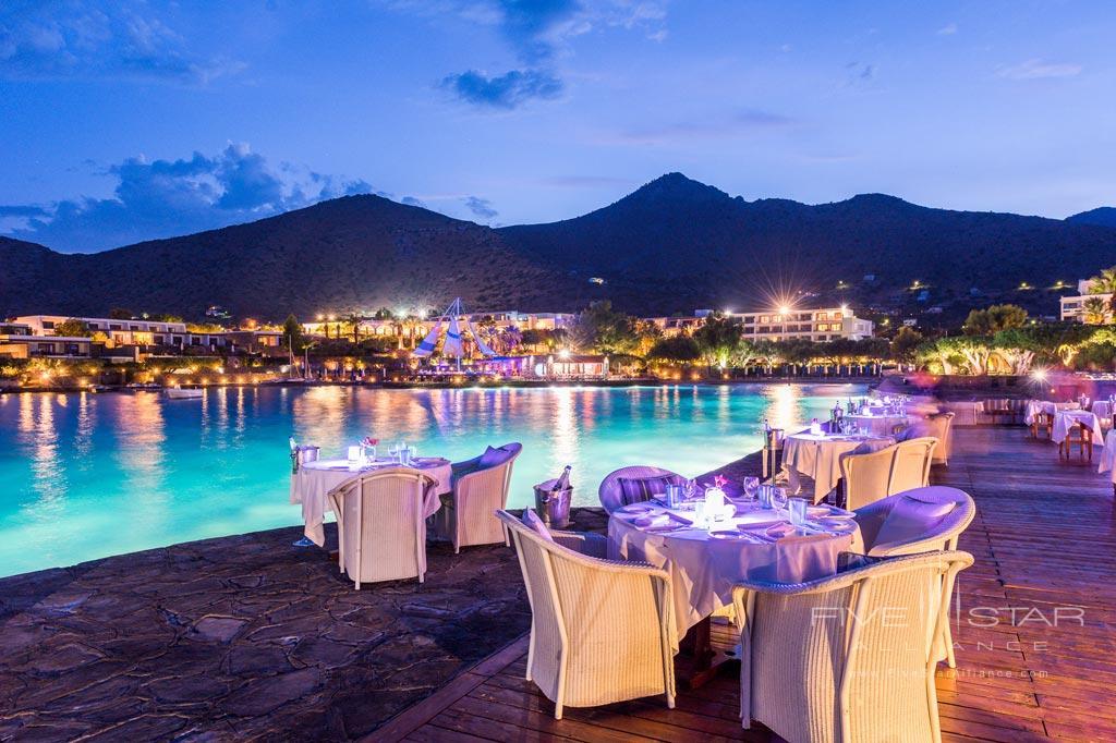 Thalassa Restaurant at Elounda Bay Palace, Greece
