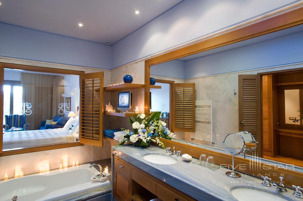 Luxury Sea View Bath at Elounda Bay Palace, Greece