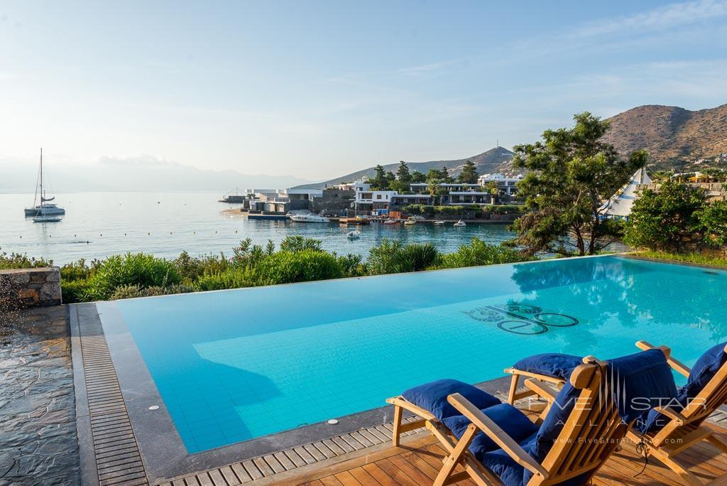 Outdoor Pool at Elounda Bay Palace, Greece