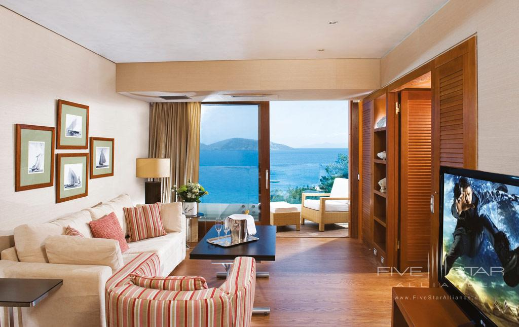 Deluxe Sea View Suite at Elounda Bay Palace, Greece