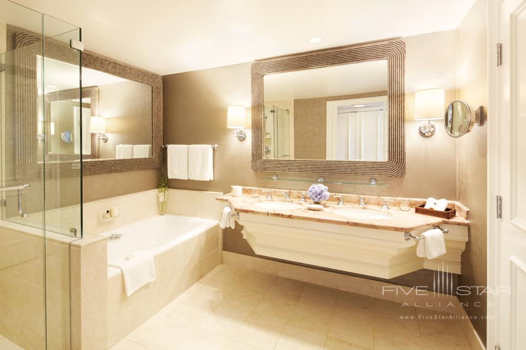 Guest Bath at Park Hyatt Aviara Resort, Golf Club & Spa, Carlsbad, CA