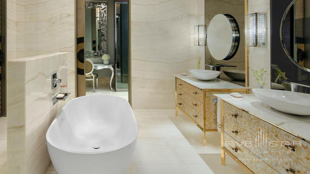 Royal Suite Bathroom at Jumeirah Al Naseem