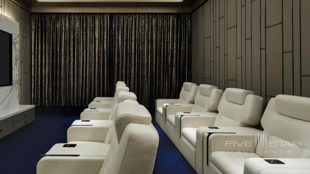 Royal Suite cinema room at Jumeirah Al Naseem