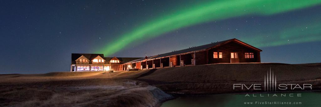 Northern Lights at Hotel Ranga, Hella, Iceland
