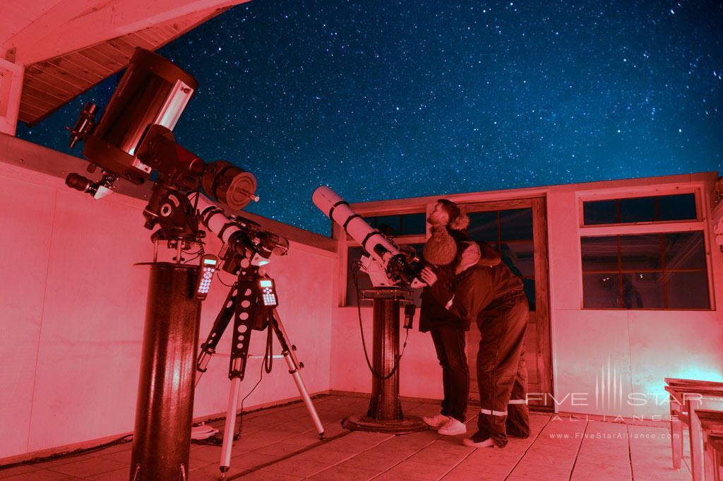Stargazing at Hotel Ranga, Hella, Iceland