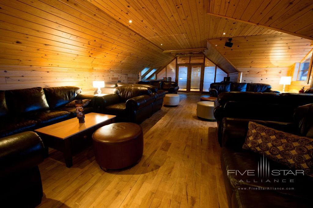 Lounge at Hotel Ranga, Hella, Iceland