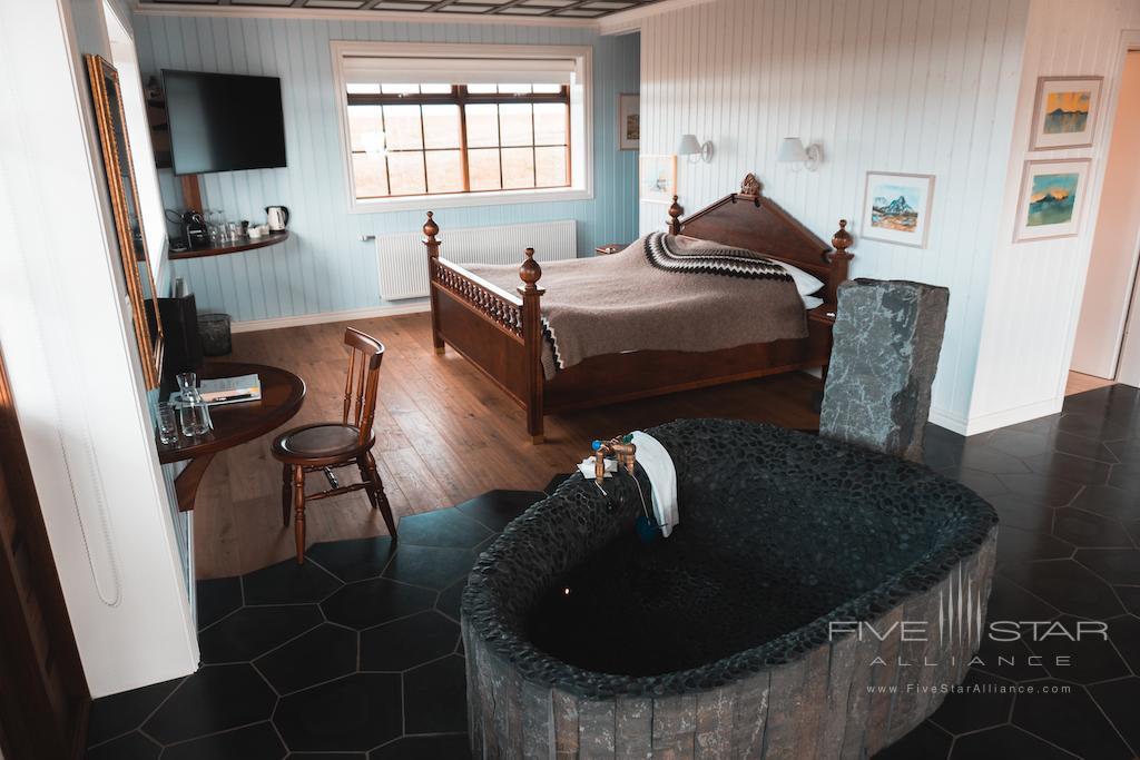 Guest room at Hotel Ranga, Hella, Iceland