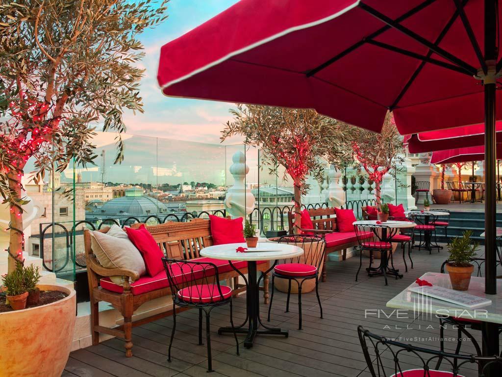 Terrace Dine at The Principal Madrid, Spain