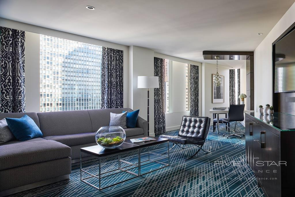 Prestige Suite at Sofitel Chicago Magnificent Mile, Chicago, IL