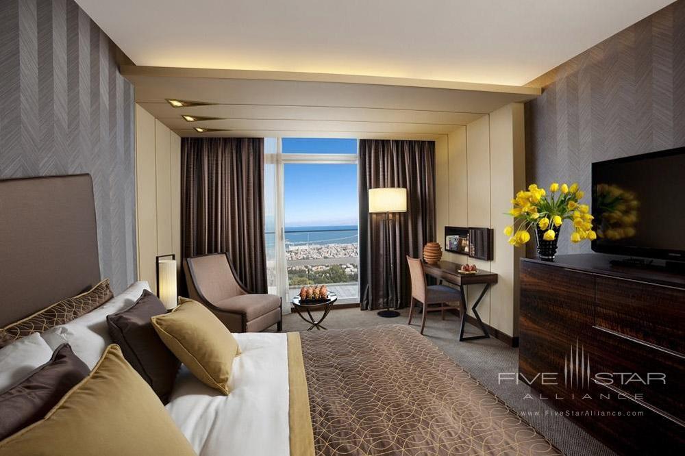 Executive Bay Guest Room at Dan Carmel Haifa, Israel