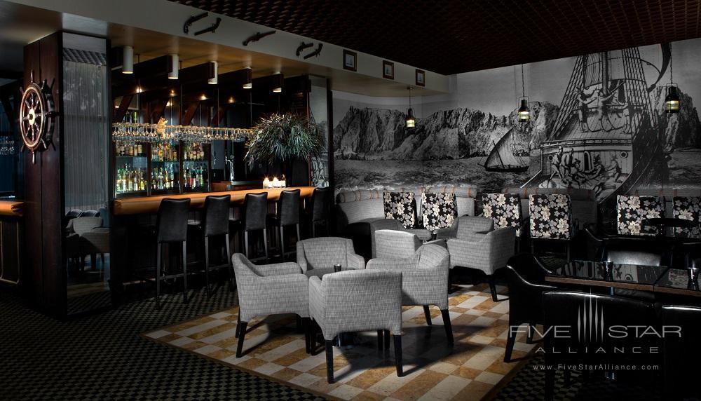 Bar at Dan Carmel Haifa, Israel