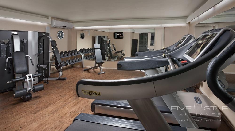 Fitness Center at Dan Carmel Haifa, Israel