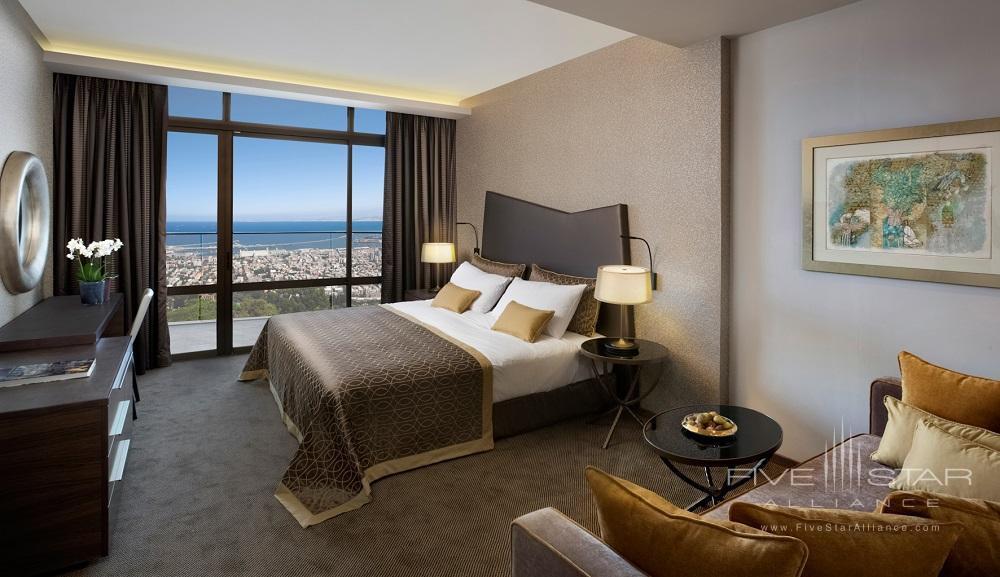 Deluxe Bay Guest Room at Dan Carmel Haifa, Israel