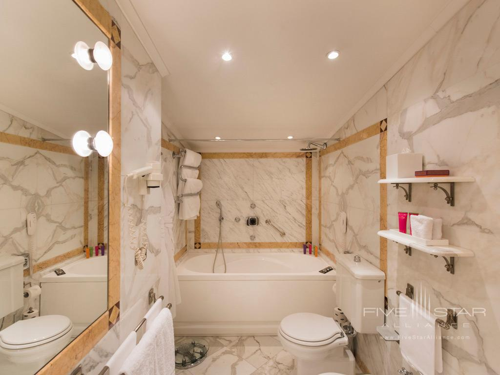 Suite Bath at Hotel Helvetia and Bristol, Firenze, Italy