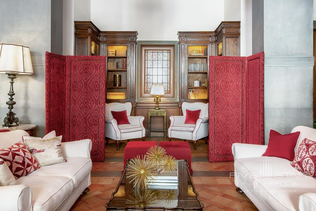 Lobby of Hotel Helvetia and Bristol, Firenze, Italy