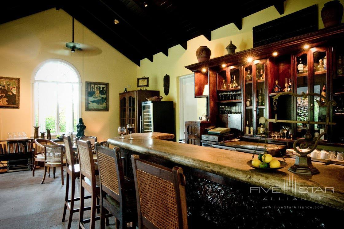 Bar at Point Grace Resort, Turks & Caicos Islands