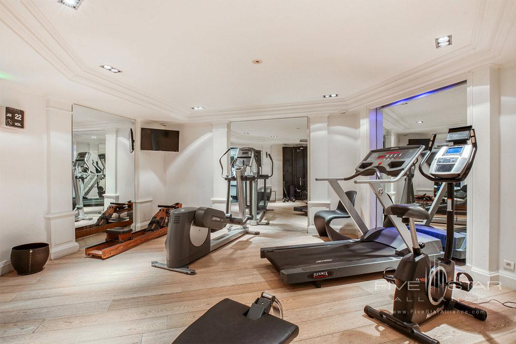 Fitness Center at Room Mate Alain, Paris, France